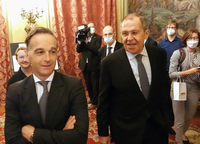 Глава МИД ФРГ не захотел участвовать в церемонии вместе с Лавровым