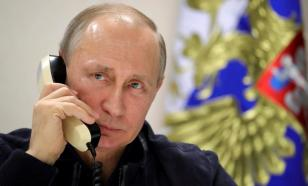 Президенты России и Украины поговорили по телефону