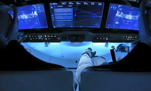 Космонавт Иванишин побывал на пристыкованном к МКС Crew Dragon