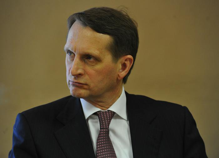 Нарышкин рассказал о перспективах совместной работы спецслужб РФ и РБ
