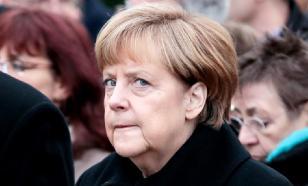 Неизвестный мужчина пытался напасть на Меркель