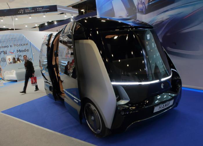 В Китае запустили беспилотные автомобили