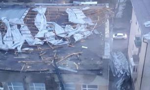 Ураганный ветер привел к режиму ЧС в Ставрополе
