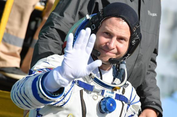 Американский астронавт Ник Хейг удостоился Ордена Мужества
