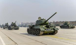 В Подмосковье приступили к тренировкам парада в честь 75-летия Победы