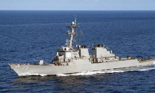 Американский эсминец покинул Чёрное море, испугавшись российских ракет