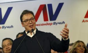 Униженная Сербия отомщена? Будущий президент Вучич благодарит Путина