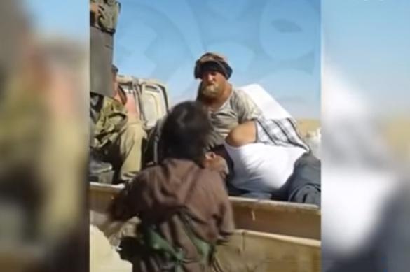 """Найдено новое видео с """"пленными россиянами"""" в Сирии"""