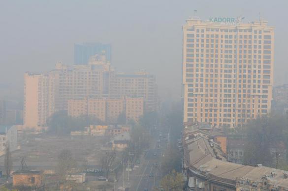 Индекс загрязненности воздуха в Киеве превышен в три раза
