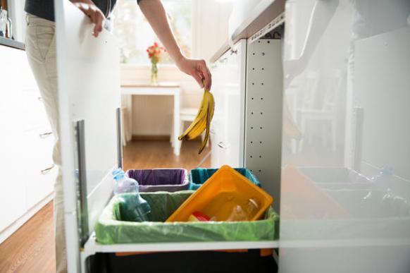 Способы раздельного сбора мусора в небольшой квартире