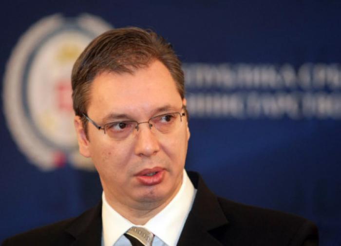 Вучич отдает территории Сербии по распоряжению мирового правительства