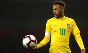 Неймар покинул сборную Бразилии