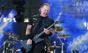 """Metallica исполнила песню """"Группа крови"""" во время концерта в Москве"""