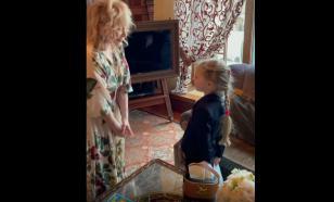 Галкин с детьми организовал сюрприз Пугачёвой на её день рождения