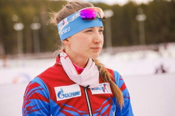 Российская биатлонистка Миронова выиграла бронзу Кубка мира