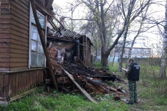 В Ленобласти сгорел еще один старинный особняк