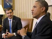 Странная похвала Саакашвили от Обамы