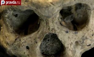 Житель Курганской области выкопал на своем участке столетний человеческий скелет