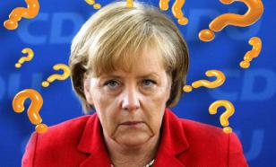 Депутат бундестага: многие в Берлине подозревают Меркель в алкоголизме