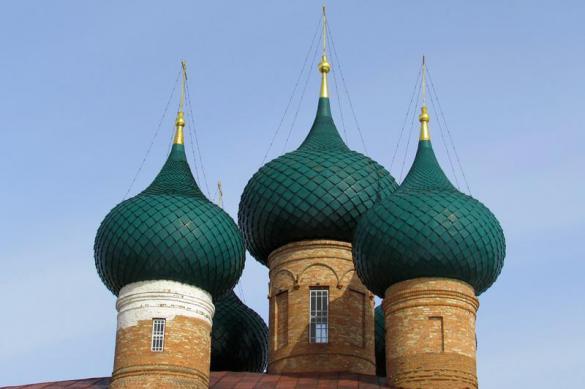 Передвижной храм для российской армии
