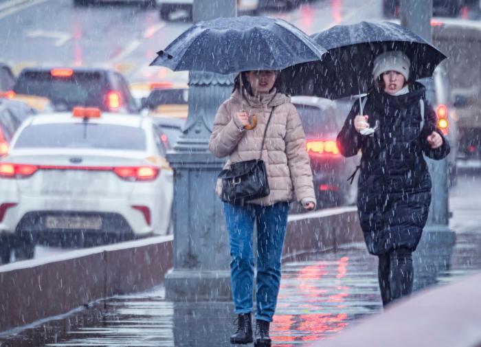 В выходные в центральной России пройдут дожди