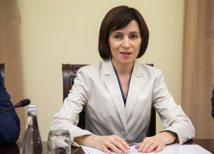 Санду отказалась платить долг за газ для Приднестровья