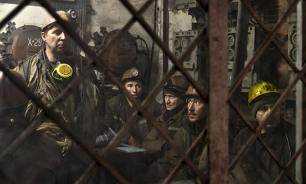 На Украине бастуют шахтеры, требуя погашения долгов по зарплате