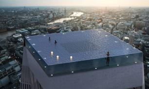 """Первый в мире """"бесконечный"""" бассейн построят на небоскребе в Лондоне"""