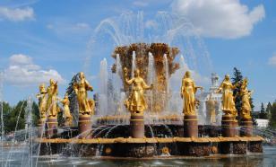 На ВДНХ открылся сезон фонтанов