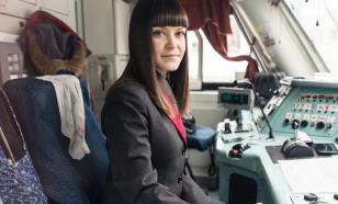 В России впервые выдали диплом машиниста локомотива девушке