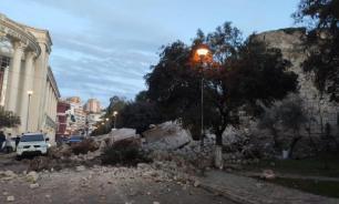 Новое мощное землетрясение произошло в Албании