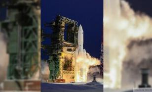 """С космодрома Плесецк запущена тяжёлая ракета """"Ангара-А5"""""""