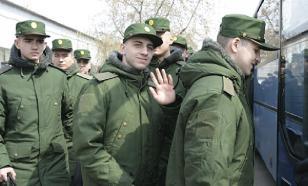 Российская армия весной примет в свои ряды 128 тыс. солдат