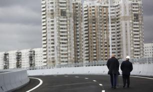 Около 30 км дорог построено в Москве с начала года