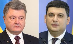 Порошенко и Гройсман - не соратники в политике, но конкуренты в бизнесе