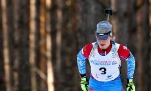 Российская биатлонистка Подчуфарова дебютировала за сборную Словении