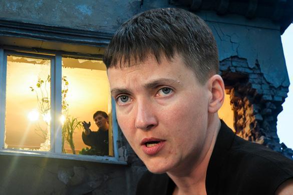 Савченко пытается усидеть на двух стульях, прося прощение у матерей Донбасса - мнение
