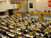 В Конституции речь идет о сроке избрания Госдумы, а не сроке полномочий депутатов - мнение