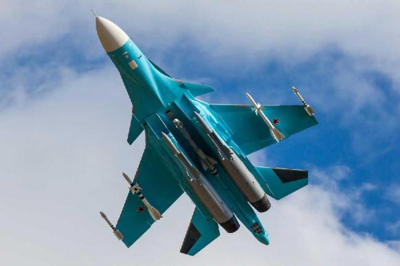 Под Челябинском успешно прошли учения Су-34
