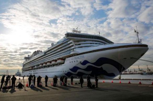 Украинцы с лайнера Diamond Princess отказались эвакуироваться