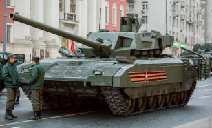 """""""Ростех"""" обозначил сроки серийных поставок танка Т-14 """"Армата"""""""