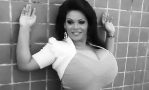 Самую большую грудь Бразилии снимут в фильме ужасов