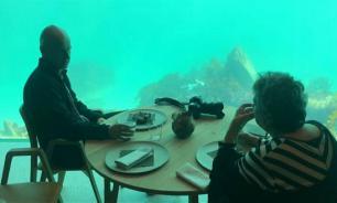 На юге Норвегии открылся крупнейший в мире ресторан под водой