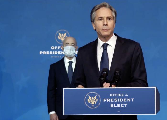 Госсекретарём США стал Энтони Блинкен
