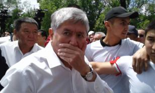 В Киргизии задержан экс-президент Атамбаев