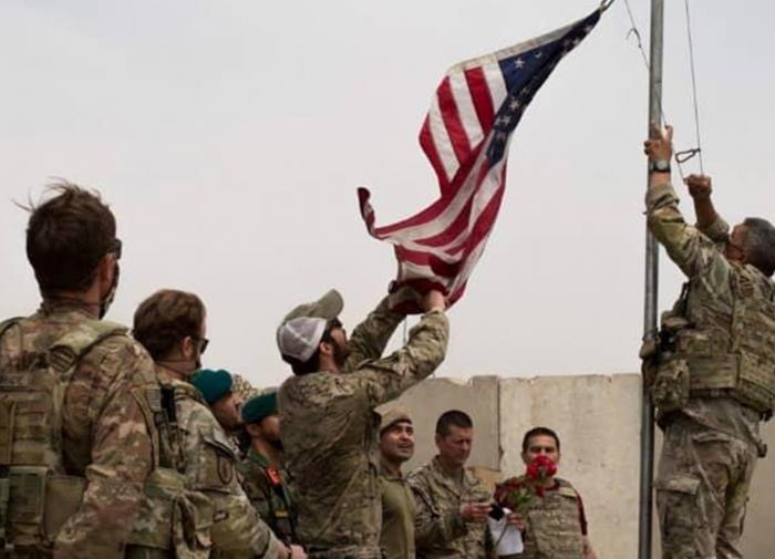Почти 6% американского военного контингента покинули Афганистан