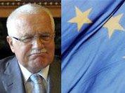 """Вацлав Клаус: гроза ЕС и """"похититель ручек"""""""