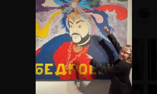Ксения Собчак прочитала мантру перед портретом Киркорова
