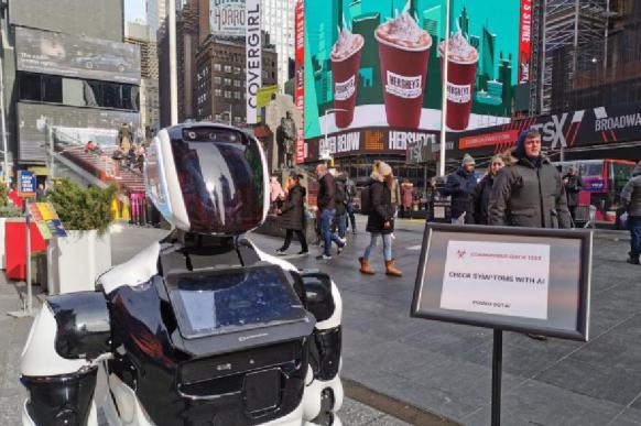 Российский робот занят поиском коронавируса в Нью-Йорке