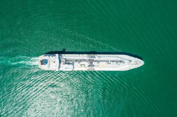 В США танкеры используют как нефтехранилища